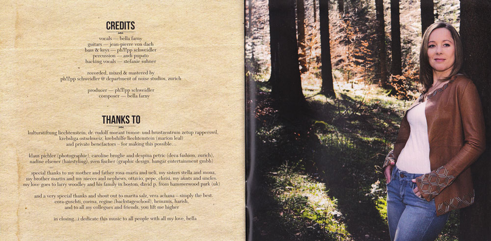 CD Booklet